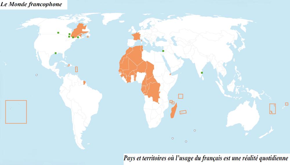 Définition De La Francophonie Du Monde Francophone